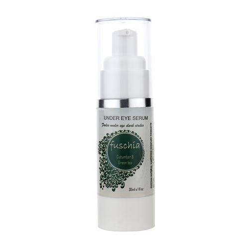 Fuschia Under Eye Serum - Cucumber & Green Tea Extracts