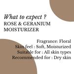 Fuschia Rose & Geranium Cleansing Intense Moisturizer - 50 ml
