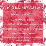 Fuschia  Cherry Caramel Lip Balm