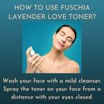 Fuschia Hydrating Facial Toner - Lavender - 100ml