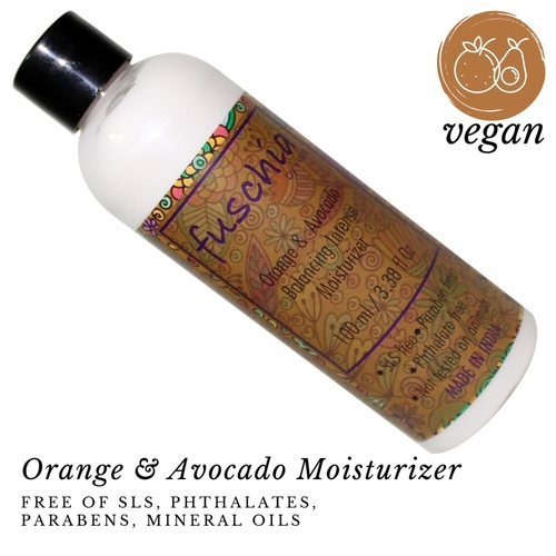 Fuschia  Orange &  Avocado Balancing Intense Moisturizer - 100 ml