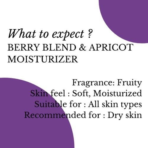 Fuschia Berry Blend & Apricot Clarifying Intense Moisturizer - 50 ml