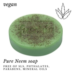 Fuschia - Pure Neem Natural Handmade Herbal Soap