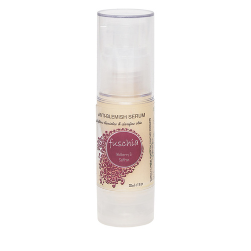 Fuschia Anti Blemish Serum - Mulberry & Saffron Extracts