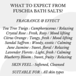 Fuschia - Blueberry Bloom Bath Salt - 100 gms