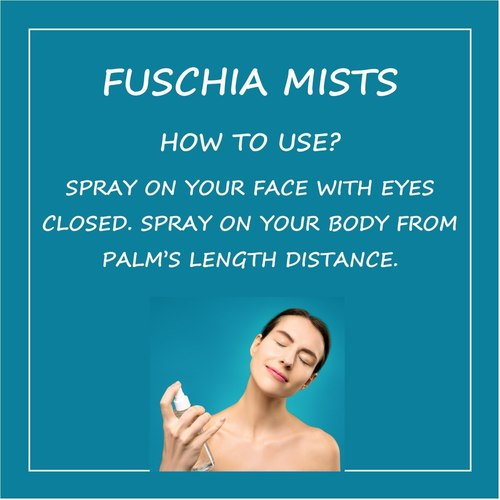 Fuschia Relax Lavender Face & Body Mist - 50ml