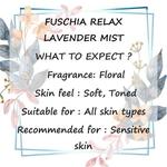 Fuschia Relax Lavender Face & Body Mist - 50ml