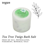 Fuschia - Tea Tree Twigs Bath Salt - 100 gms