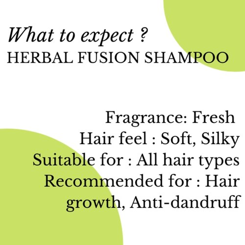 Fuschia Herbal Fusion Shampoo - 100ml