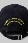 Cap - Black Base with Yellow Embroidery