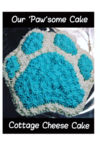 Cottage Cheese Paw Cake - 1.5 Kg