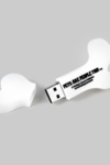 Bone Shaped White Pen Drive
