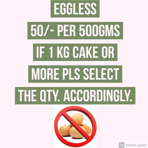 Eggless Charges
