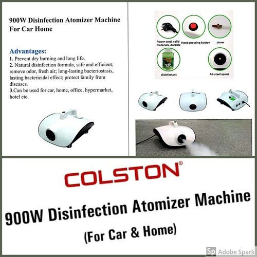 Colston Disinfection Atomiser Machine