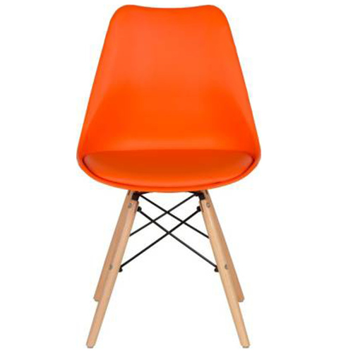 Comfortable Plastic Chair for Dining GLOW C