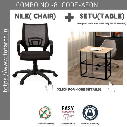 Work from Home Combo ZARA SETU TABLE  + NILE CHAIR