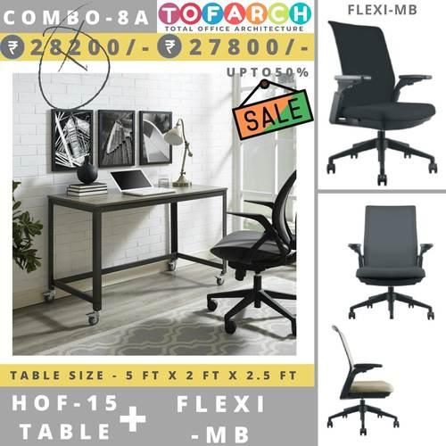 Table Chair Combo - 8A HOF 15 Table + FLEXI MB Chair