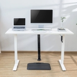MANUAL SIT STAND DESK WHITE