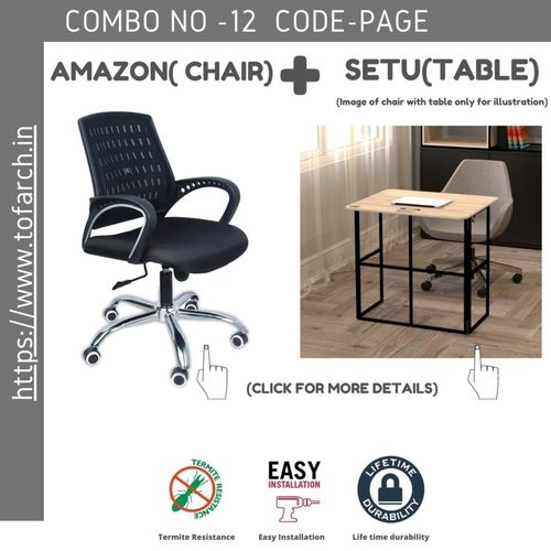 Work from Home Combo PAGE SETU TABLE  + AMAZON CHAIR
