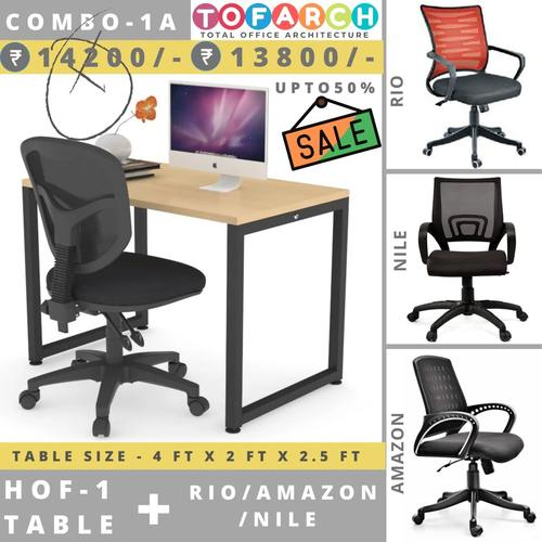 Table Chair Combo - 1A HOF 1 + RIO  AMAZON  NILE