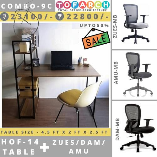 Table Chair Combo  9C HOF 14 Table + DAM  AMU  ZUES Chair