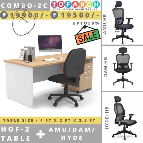 Table Chair Combo - 2C HOF 2 + AMU  DAM  HYDE