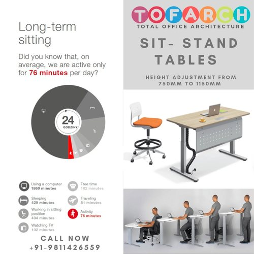 HEIGHT ADJUSTABLE TABLE HT-8
