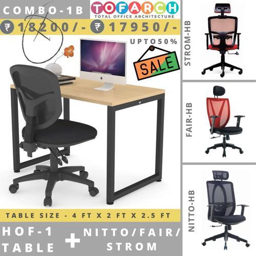 Table Chair Combo - 1B HOF 1 + NITTO  FAIR  STROM