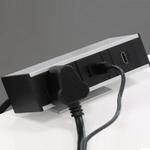 Electric Box - Edge Mount 1 Universal Power + 2 USB + 1 HDMI