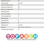Home Office Table HO-014