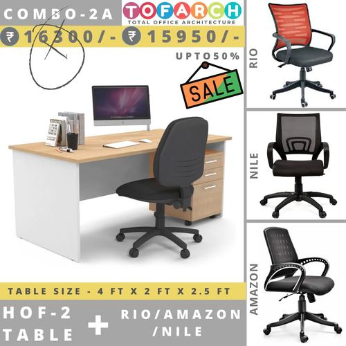 Table Chair Combo - 2A HOF 2 + RIO  AMAZON  NILE