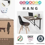 HANG Office Table by TOFARCH