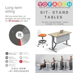 HEIGHT ADJUSTABLE TABLE HT-7
