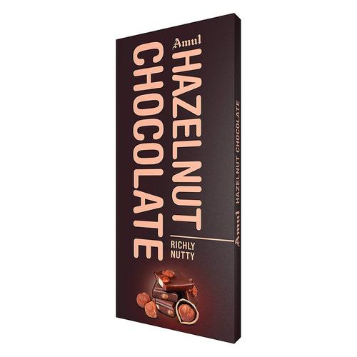 Amul Hazelnut Chocolate (Richly Nutty) - 150g