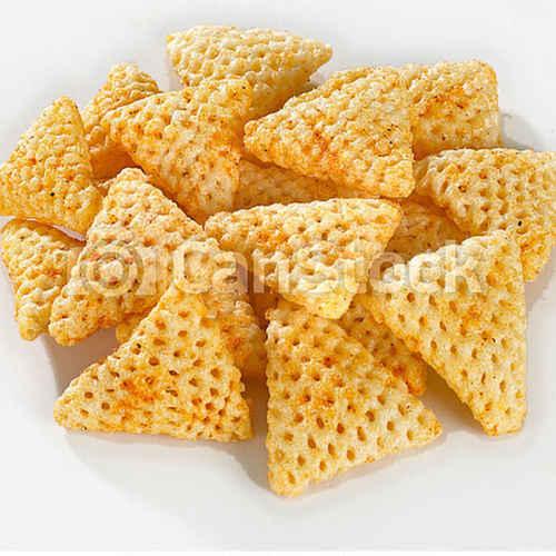 3D Papad - Triangle Shape Fryum (Ready To Fry) - 250g