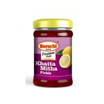 Suruchi Khatta Mitha Lemon Pickle - 600g