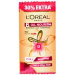 Loreal Paris 6 oils Nourishing Shampoo & 6 Flower Oils Shampoo (Pouch) - 7.15ml