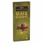 Cadbury Temptation (Run & Raisins) Chocolate - 72g