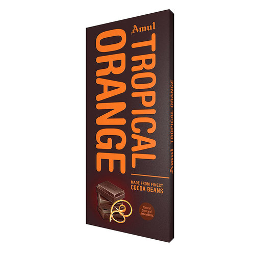 Amul Tropical Orange Chocolate (Made From Finest Cocoa Beans) - 150g