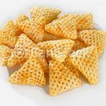 3D Papad - Triangle Shape Fryum (Ready To Fry) - 500g