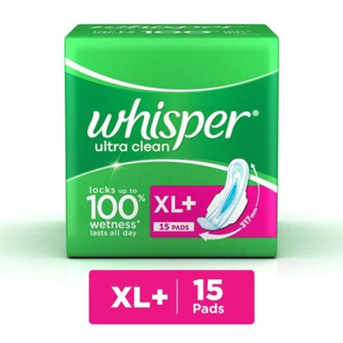 Whisper Ultra Clean XL - 15pad