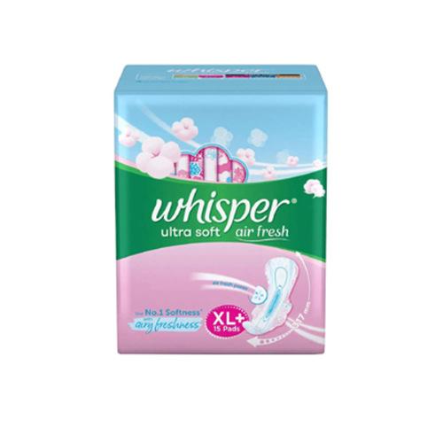 Whisper Ultra soft air fresh XL - 15pad