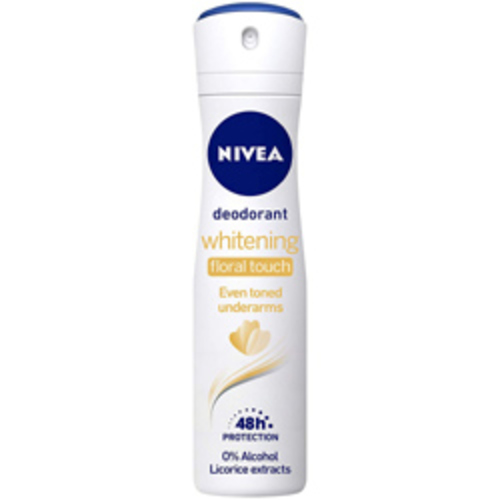 Nivea Deodrant Whitening Floral Touch (Even Toned Underarms) - 150ml