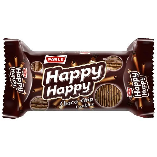 Parle Happy Happy Chocochip Cookies Biscuit - 80g