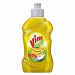 Vim Dishwash Liquid With Power Of Lemon - 250ml
