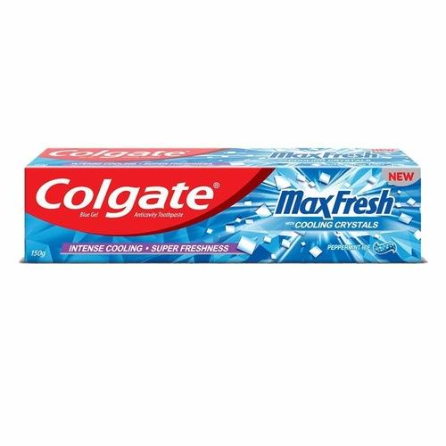 Colgate Toothpaste - Maxfresh Anti Cravity  Pepperment Ice - 150g