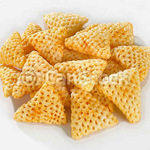 3D Papad - Triangle Shape Fryum (Ready To Fry) - 1kg