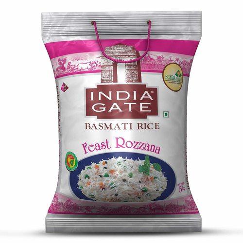 India Gate Basmati Rice Feast Rozzana - 5kg