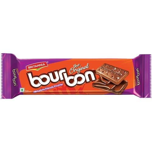 Britannia Bourbon Chocolate Cream Biscuits - 120g