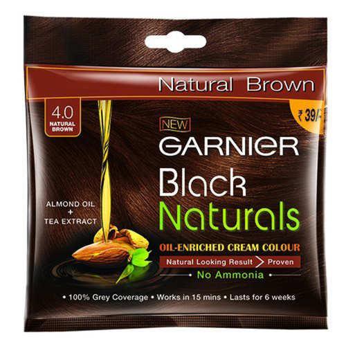 Garnier Color Naturals Oil Enriched Color (Natural Brown) - 40g